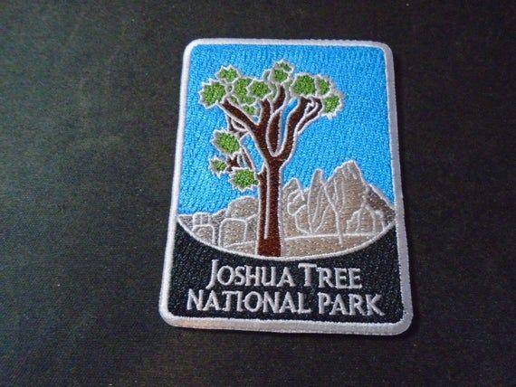 Joshua Tree Iron On Patches