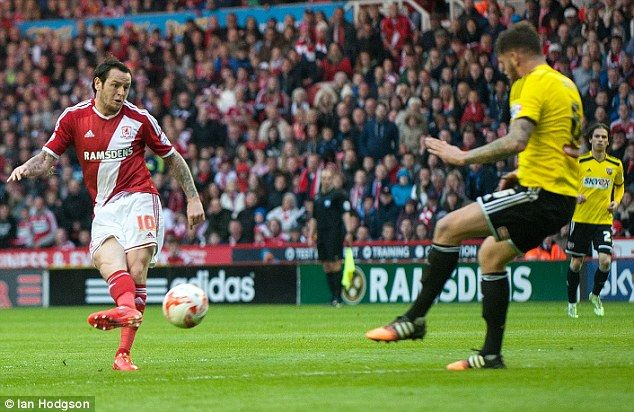 Middlesbrough 3-0 Brentford (agg 5-1): Lee Tomlin, Kike and Albert Adomah on target as Boro reach Championship play-off final | Daily Mail Online