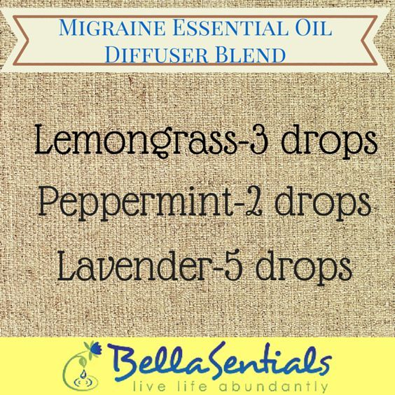 Migraine Essential Oil Blends | Essential Oils for Headaches doterra