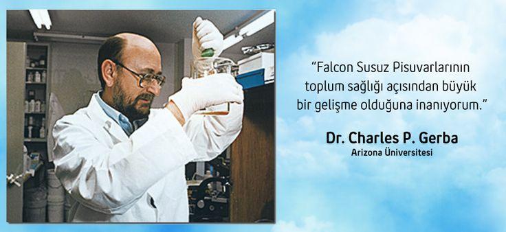 Dr.Charles P.Gerba Falcon Susuz Pisuvar Hakkında Konuştu