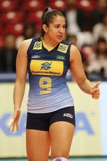 Blog Oficial de Nova Londrina: Natália Zilio Pereira - Jogadora de Vôlei da Seleção Brasileira.