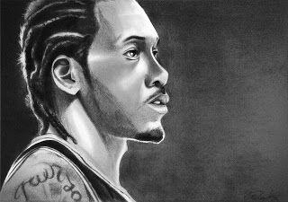 Graphite Sketch - Portrait of Kowhi Leonard