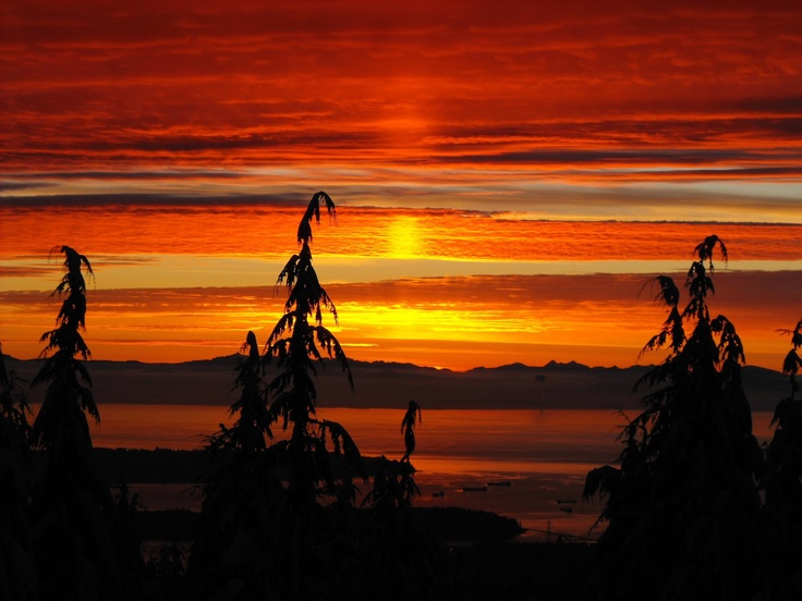 There is nothing quite as beautiful as a Vancouver Sunset from the North Shore!