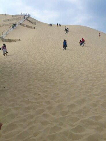 Dune pilah- highest in Europe!