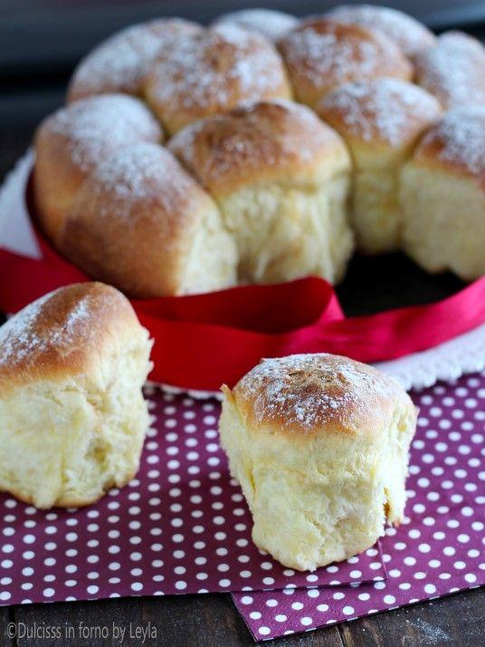 Buchteln alla nutella e alla marmellata | krapfen non fritti, cotti al forno Dulcisss in forno by Leyla