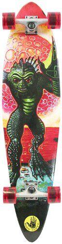 Body Glove Creature Pintail Longboard Skateboard, 40-Inch: Amazon.ca: Sports & Outdoors