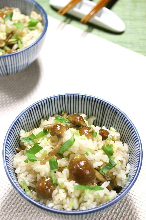 なめこご飯 by yakko   レシピサイト「Nadia   ナディア」プロの料理を ...