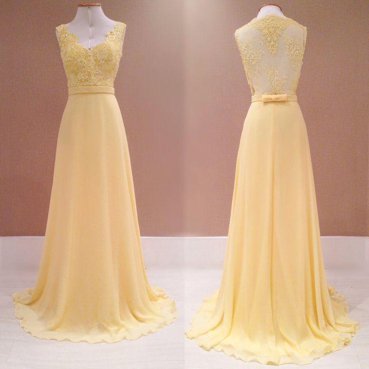 vestido de festa amarelo madrinha