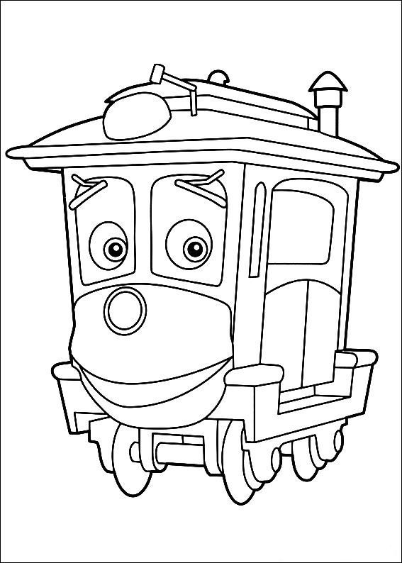 11 best Chuggington Coloring Pages images on Pinterest Coloring - copy coloring pages printable trains