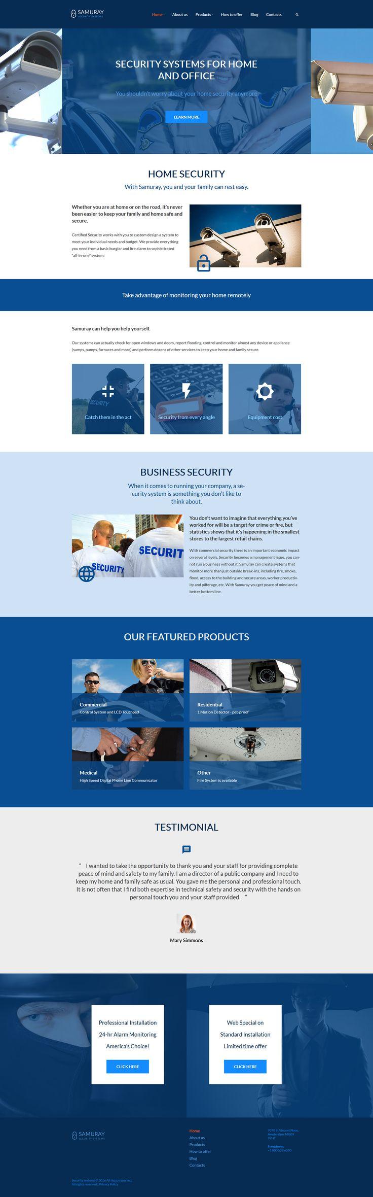 Samuray WordPress Theme. Security CompaniesSecurity TipsWebsite DesignsWordpress  ... Part 41