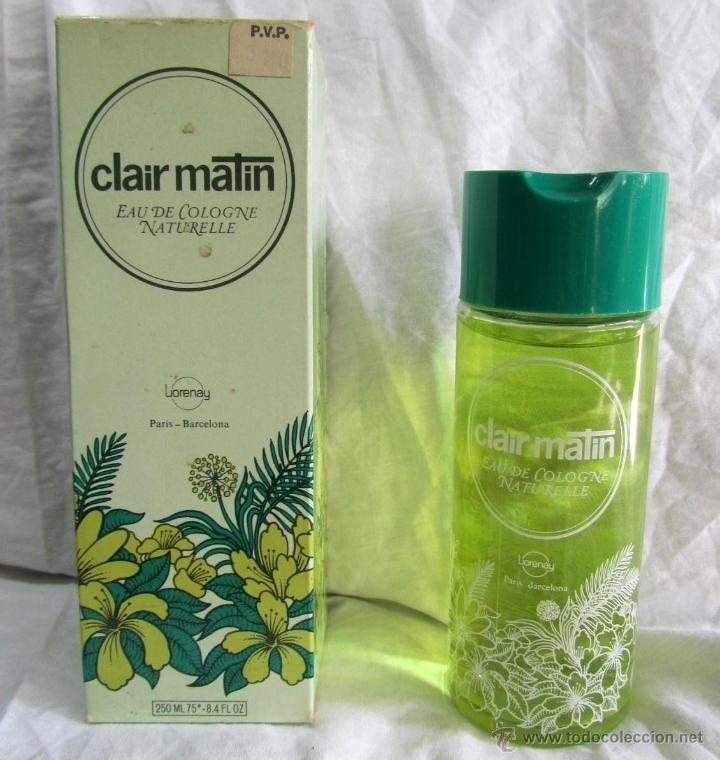 COLONIA NATURAL CLAIR MATIN LORENAY 250 ML (Botellas, Cajas y Envases - Miniaturas de Perfumes.)
