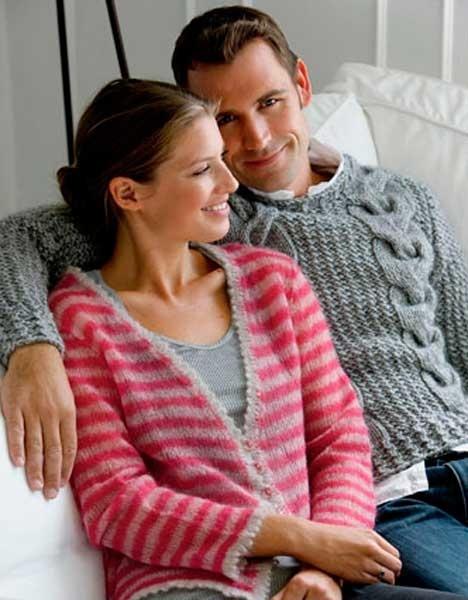 Herresweater http://www.hendesverden.dk/handarbejde/strik/Strik-Herrer-sweater/