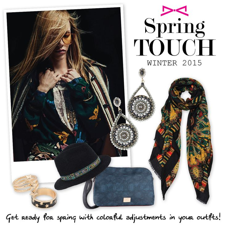 Stay relevant in #spring with bright choices!  Find out more in #achilleas_accessories