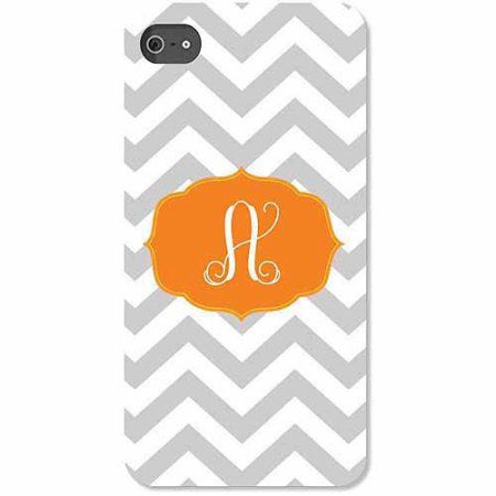 Personalized Chevron Initial iPhone 4 Case