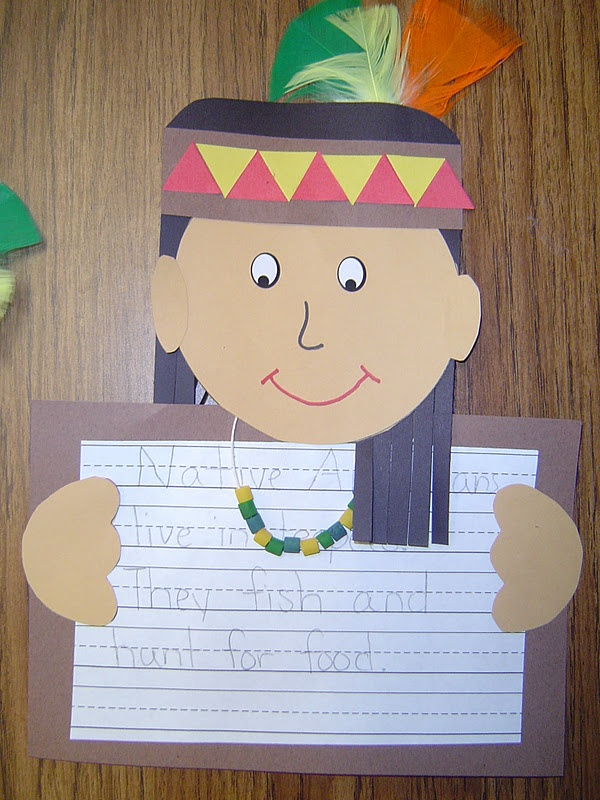 106 best images about preschool thanksgiving theme on for Native american thanksgiving crafts