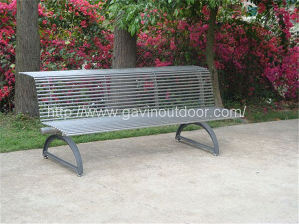 304 stainless steel park bench stainless steel and wood bench with