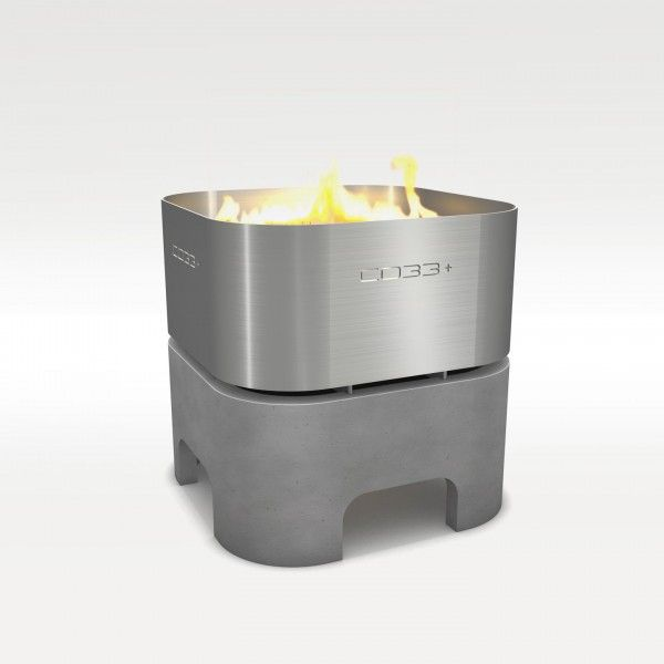 CO33 - F3 - Feuerkorb mit / ohne Grillblech