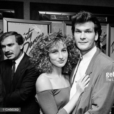 Jennifer Grey and Patrick Swayze (Dirty Dancing 1987.)