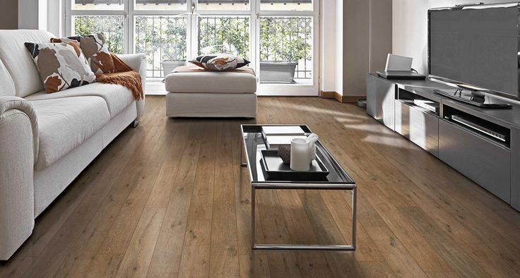 Nashville Oak Textured Laminate Floor Light Oak Wood