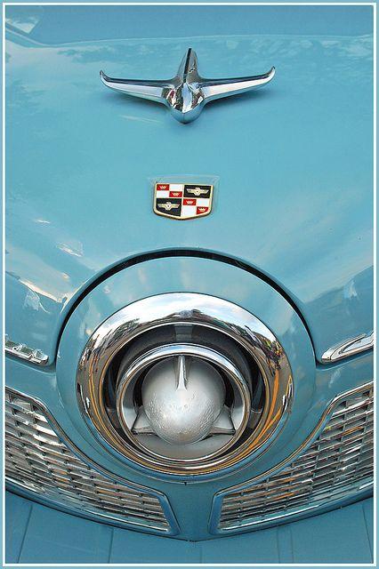 BLUE B1951 Studebaker bullet by sjb4photos on Flickr.