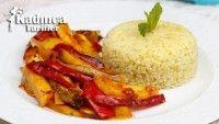 Fırında Etsiz Sebzef Kebabı Tarifi