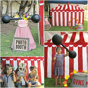 Fun Circus Party Ideas: Vintage Carnival Theme