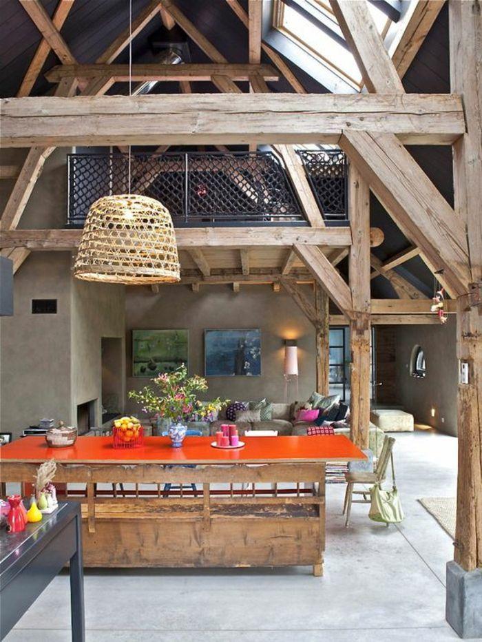 1-joli-lustre-de-cuisine-en-rotin-meubles-de-cuisine-sol-en-beton-ciré