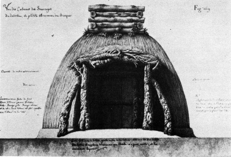 Jean-Jacques Lequeu, Design for a Primitive Hut