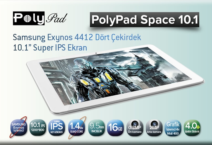 PolyPad Space 10.1'e root yetkisi vermek