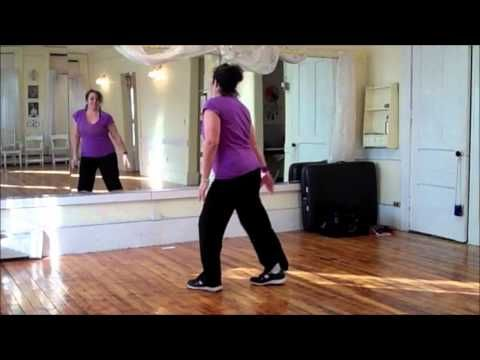 30 minutes of beginner Dance workout, she really breaks it down and i'd say it's a fairly low impact workout…perfect for being in my third trimester