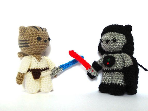Sith Cat Amigurumi Pattern Star Wars Crochet by MysteriousCats
