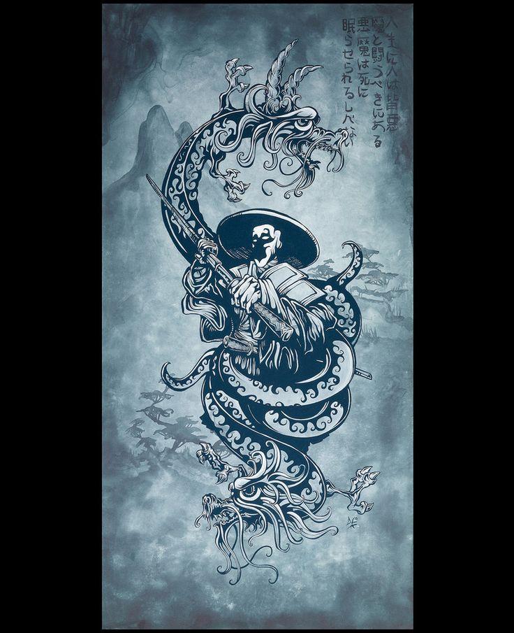 In Death, The Demons Sleep on www.davidlozeau.com