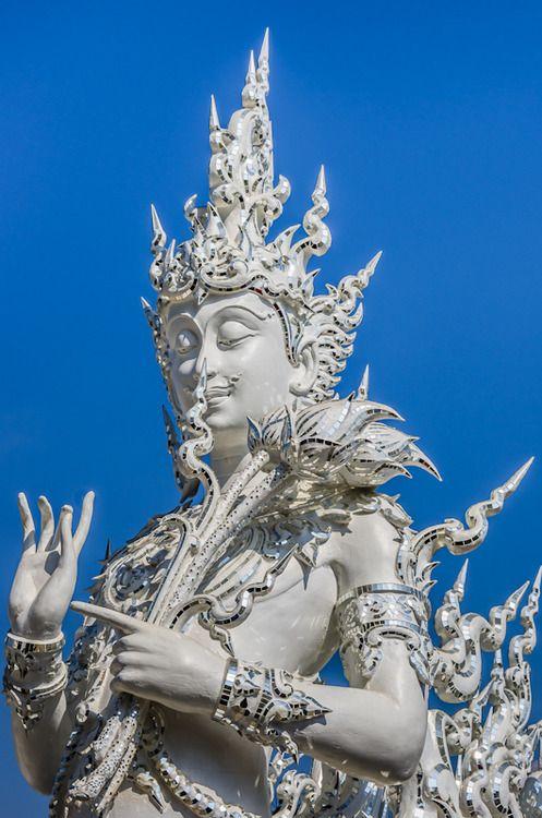 amazing... at Wat Rong Khun, Chiang Rai, Thailand