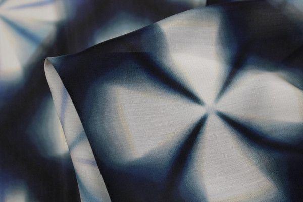 Fuzzy Diamonds - Cotton/Silk - Tessuti Fabrics - Online Fabric Store - Cotton, Linen, Silk, Bridal & more