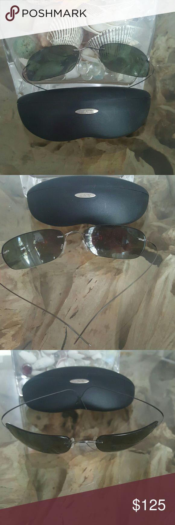 Silhouette Sunglasses ultra thin lightweight sunglasses with case silhouette  Accessories Sunglasses