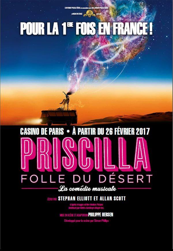 PRISCILLA Folle du désert : La plus extravagante comédie musicale
