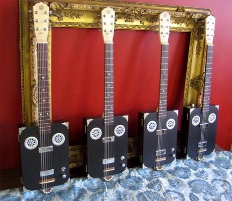 They make some nice guitars over at Daddy Mojo. & 92 best Impressive Cigar Box Guitars images on Pinterest | Cigar ... Aboutintivar.Com