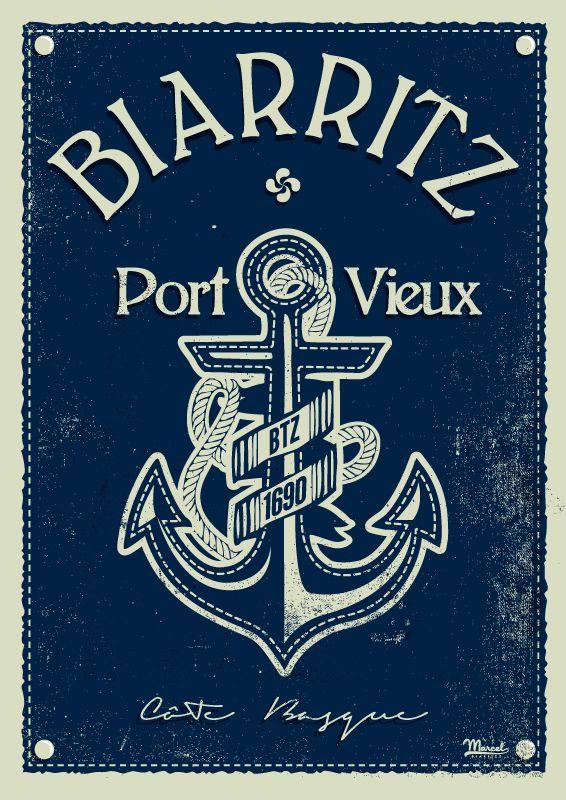 © Marcel Biarritz PORT VIEUX www.marcel-biarritz.com