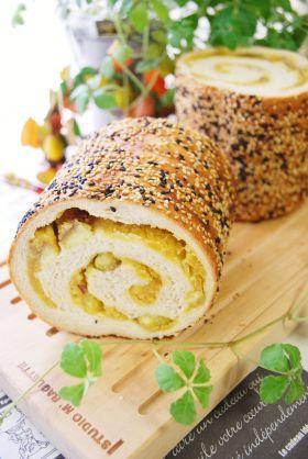 「ごまごまおさつロール」ayaka | お菓子・パンのレシピや作り方【corecle*コレクル】