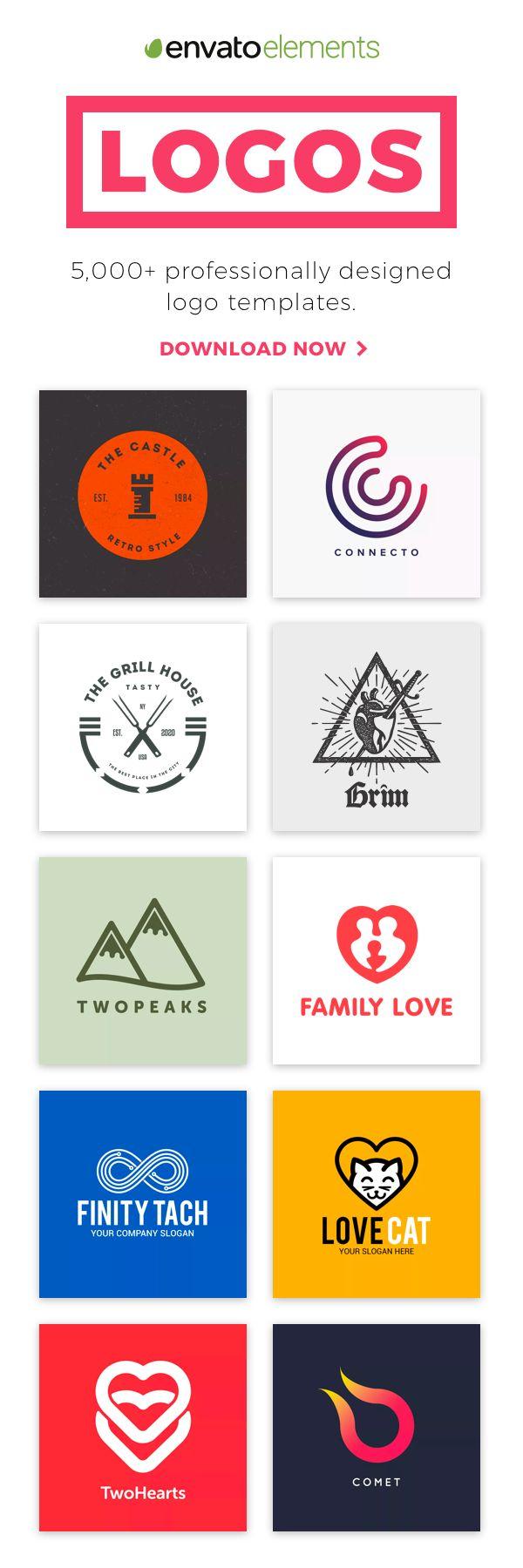 Unlimited Downloads of 2018's Best Logo Designs