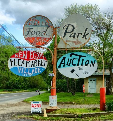 New Egypt Flea Market - Flea Market / Village in NJ; Antiques For Sale, Auctions