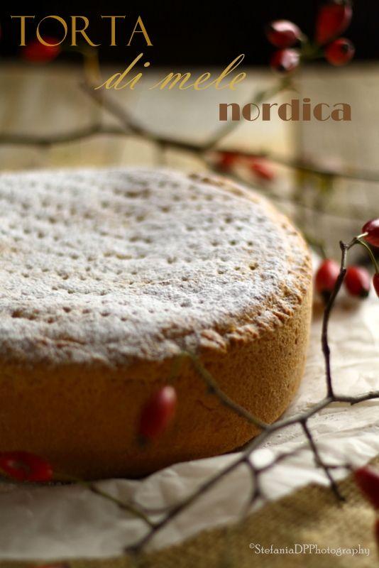 Formine e Mattarello - Torta di mele nordica