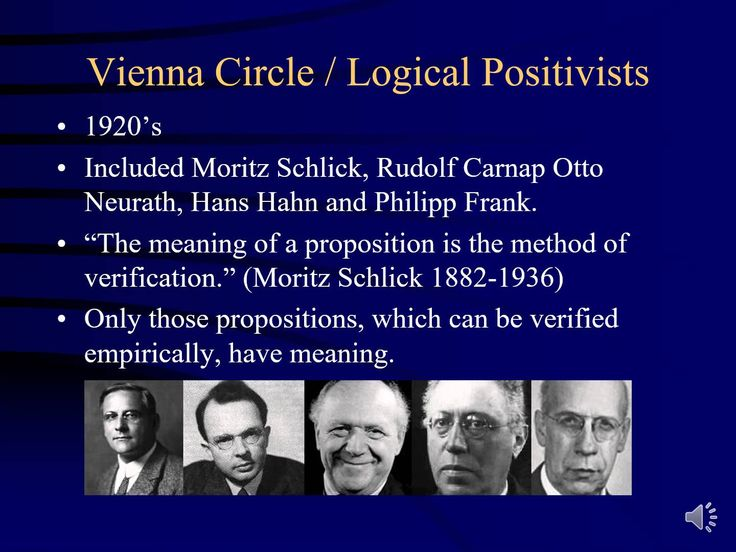 B. Verification Principle