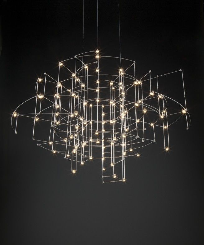 entry reception light | Quasar | Spectre Chandelier