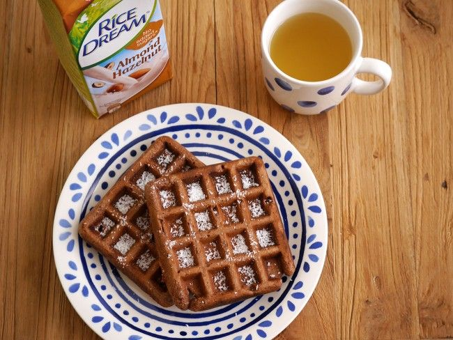 Recept: Plantaardige chocoladewafels - How about healthy?
