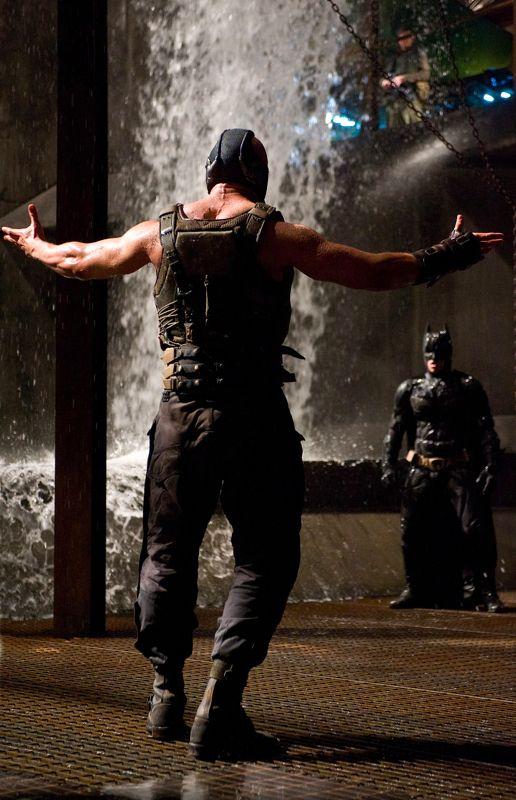 "I loved the Bane in The Dark Knight Rises. Such a cool twist compared to the ""dumber"" ones from the past"
