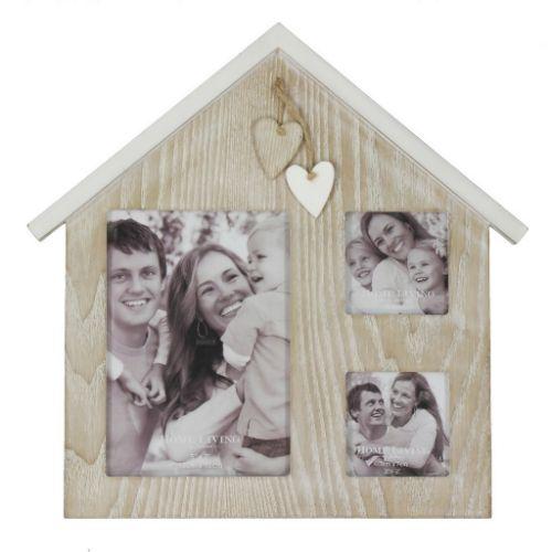 Home Living by Juliana Photo Frame - House Multi Aperture Frame - FW443