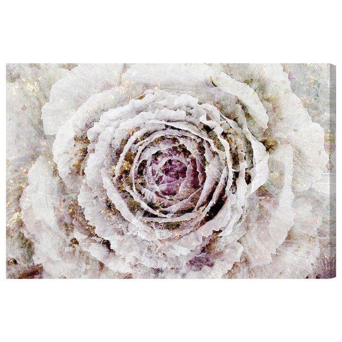 Leather Accent Tag - Rose Petal Arabesque by VIDA VIDA P2GIeDLwkR
