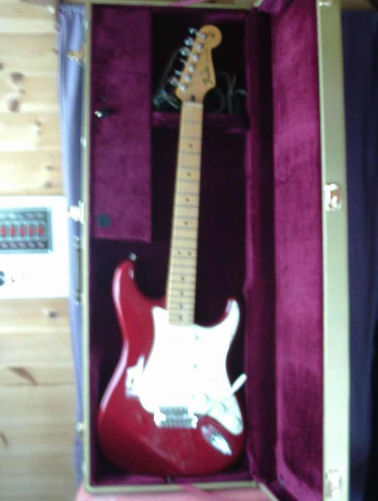 Genuine Fender MIM Mexico Mexican Stratocaster guitar