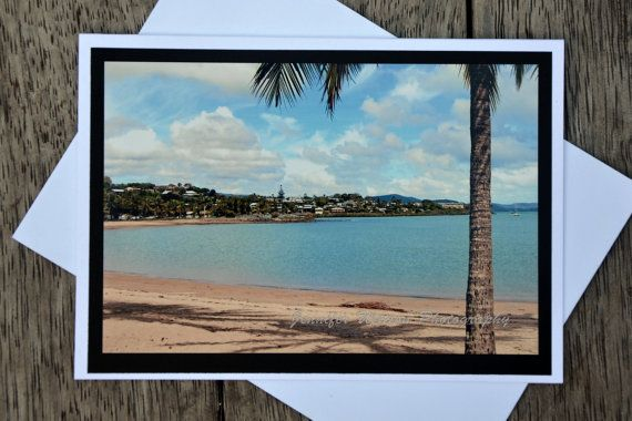 Aussie Greeting Gift Card & Print. Airlie Beach, near the Great Barrier Reef  by JenWatsonPhotography, $4.00